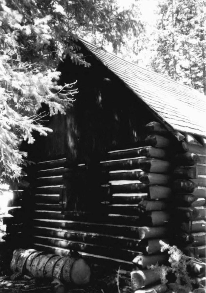 Cascade Canyon Barn, Grand Teton National Park