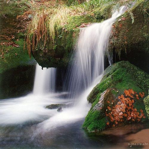cascades  La Sauteuse  Massif du Donon