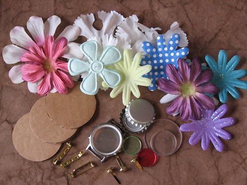 Flower Pin 004