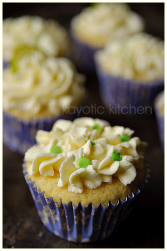 Lime and Ricotta Cupcakes