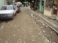 Calles sector Los Bordas Puerto Plata