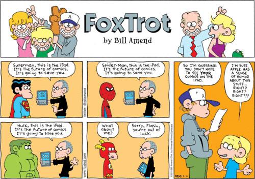 FOXTROT iPAD