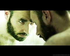 087/365 (fotowelle) Tags: portrait man face self canon bathroom mirror 5d 135mm 365days 13520l
