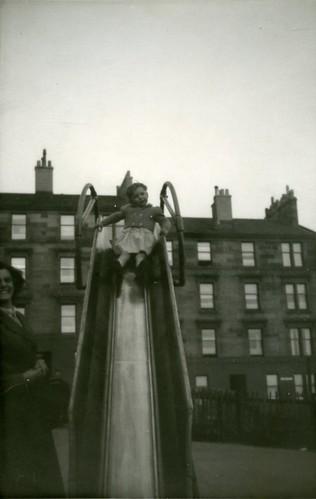 Margaret on Chute, 1957