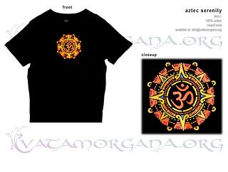 Aztec Serenity t-shirt for men