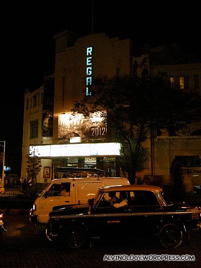 Landmark, Regency cinema