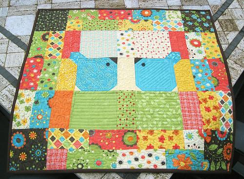 Soul Mates mini quilt
