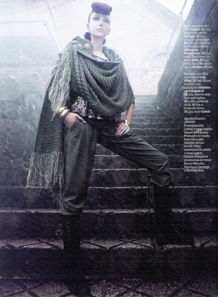 marie claire brazil march 2010 draped knit