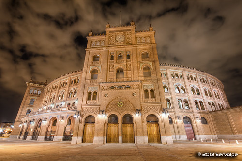 Las Ventas Bullring by Night #1 :: HDR :: DRI