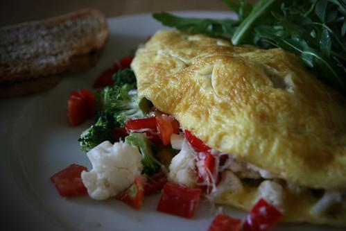 Tim's ultimate omelet