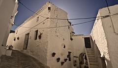 Pueblo Blanco (ypsilon_malaga) Tags: espaa white blanco wall canon landscape pared spain village pueblo paisaje andalucia andalusia malaga panormica axarqua 50d ypsilonmalaga