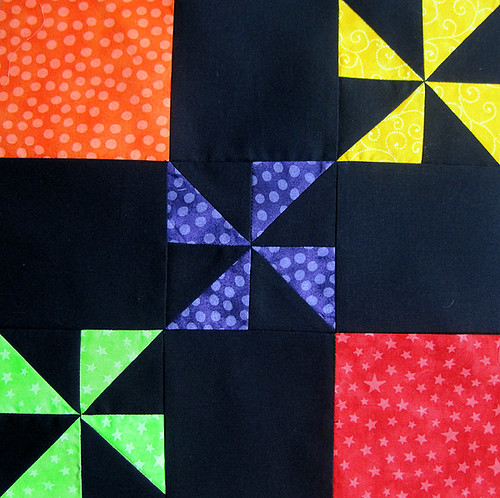 Pinwheel Party Block 7