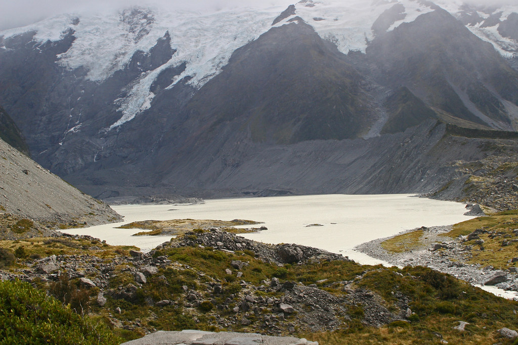 Hooker Lake,  Aoraki National Park
