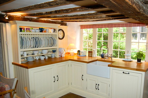 Beams in the kitchen