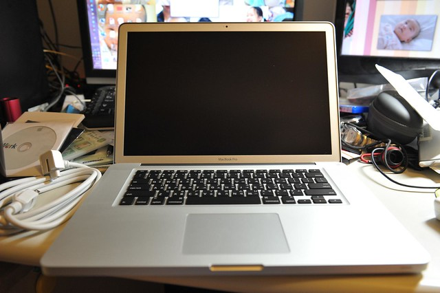 My MBP 15.4-inch
