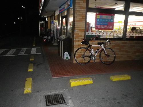 通過チェッポイント セブンイレブン韮崎東店