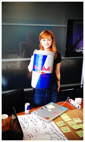 And earlier today redbull at #swtokyo