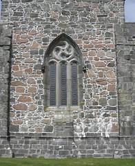 Abbey window (IrenicRhonda) Tags: game church public geotagged scotland innerhebrides unitedkingdom cemetary may pre isleofmull iona mull hebrides wor gbr houseofworship 2011 gamewinner muile redbubble pregamewinner obansouthandtheislesward chaluimchille 20may2011 geo:lat=5633467833 geo:lon=639150167