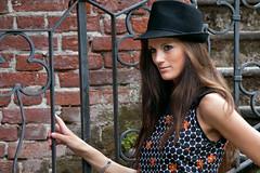 Black hat (albi_tai) Tags: donna nikon ritratto bt luce susanna ohhh modella d90 nikond90 estremità albitai mygearandme photomodelday