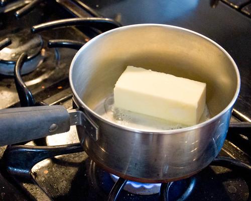 Clarifying Butter 1