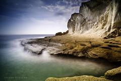 Almeria  España (Joseba Grajales) Tags: almeria andalucia españa europa caladeenmedio mar sea rocas rocks landscape paisaje largaexposición longexposure