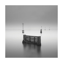 D ## (Nick green2012) Tags: venice longexposure blackandwhite square defence seascape speed limit