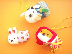 Usacolle Friends Small Plushies Ornaments & Magnet Mind Wave (Kawaii Japan) Tags: pink blue friends red cute rabbit bunny smile smiling animals yellow japan shop felted shopping asian toy happy japanese store costume strawberry doll brinquedo pretty little character small adorable mini felt goods plush mascot collection lindo ornaments swap tiny stuff kawaii fancy plushie collectible lovely cuteness goodies magnet spielzeug jouet juguete  niedlich  gentil atraente mindwave usacolle giocattolo grazioso japanesestore kawaiiswap cawaii japaneseshop kawaiigoods fancyshop kawaiistuff kawaiishopping kawaiigoodies kawaiijapan usacollefriends kawaiistore kawaiishop japanesekawaii kawaiishopjapan