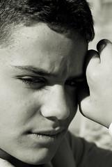 my bro.. (Daniele Peruzzi) Tags: light boy portrait people bw white black guy eyes nikon shadows lips bn ombre persone occhi luci bianco ritratto nero bocca emanuele ragazzo modello d80 nikond80