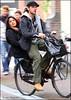 Just married (Iam Marjon Bleeker) Tags: holland amsterdam bike bicycle couple happycouple justmarried fiets fietser turksfruit peopleonabike