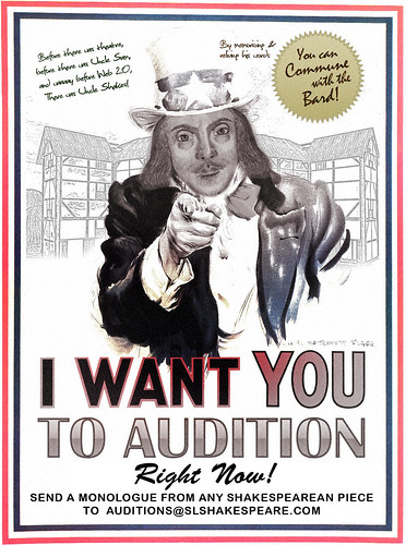 slshakespeare audition now