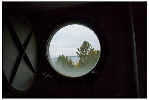Porthole - Cana Island Lighthouse