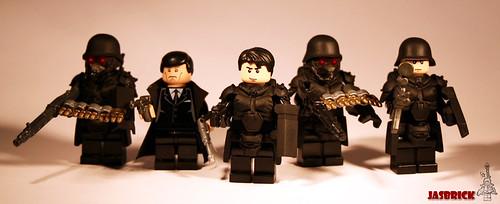 Jin Roh Wolf Brigade Squad custom minifig