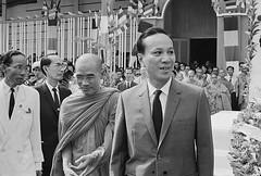 U1584935 (manhhai) Tags: people asia southeastasia vietnam prominentpersons government politicalleaders southvietnam thichtamchau nguyenvanthieu