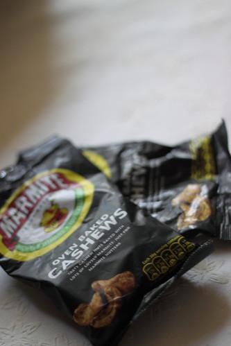 Oven Baked Cashews