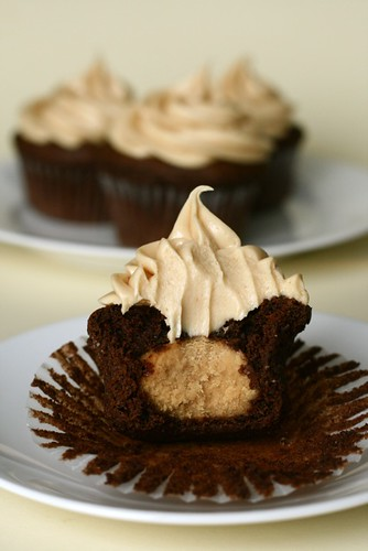 Chocolate Peanut Butter Cupcakes - Everyday Annie