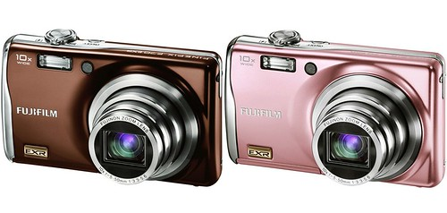 Fujifilm FinePix F70EXR pink brown