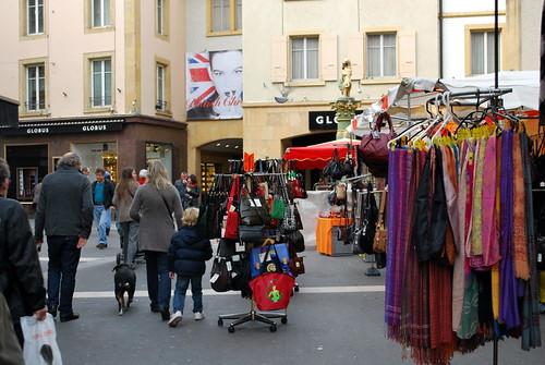 Shopping à Neuchâtel