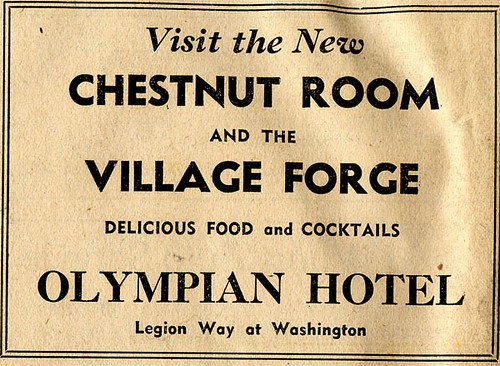 The Olympia Hotel- The Chesnut Room
