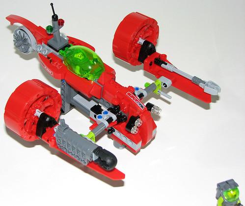 LEGO 8060 Atlantis - Typhoon Turbo Sub - Reversed