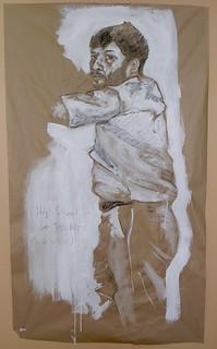 High School Art Teacher (Side View)