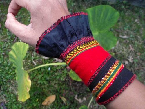 Ethiopian Harvest Wallet Wrist Cuff