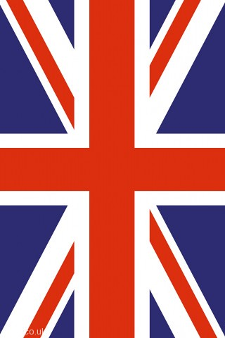 "wallpaper of uk. iphone wallpaper 320x480 of the ""union jack"" - national flag of the united"
