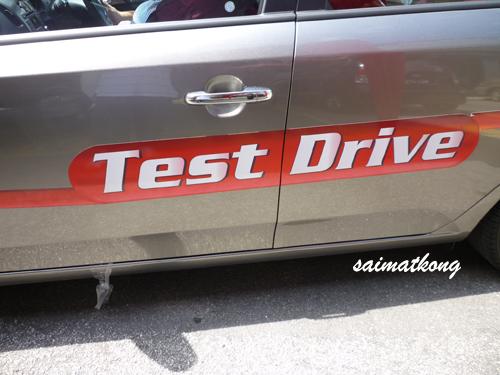 Kia Forte Test Drive Unit
