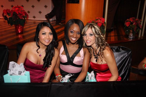 Some of the lovely ladies of the Seminole Hard Rock Hotel & Casino...