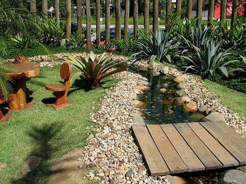 decorar o jardim de casa