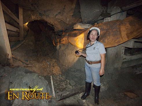 Balatoc Mines Mine Hole with Exhaust