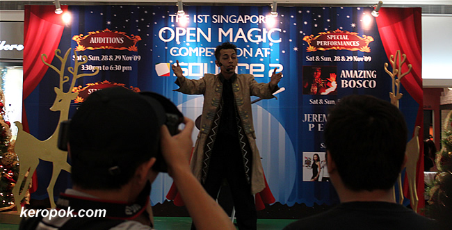 Open Magic Competition