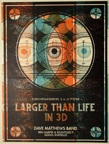 Larger Than Life in 3D Poster