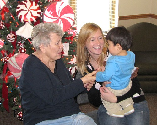 meeting great-grandma 5