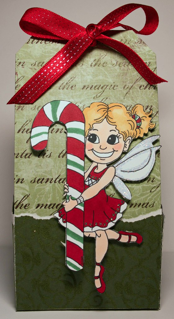 VC Candy Cane Treat Box